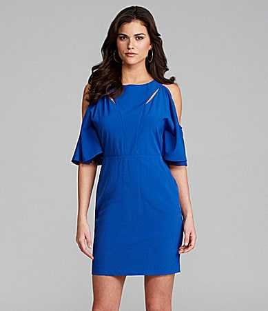 Gianni Bini Glenn Cold-Shoulder Cutout Dress