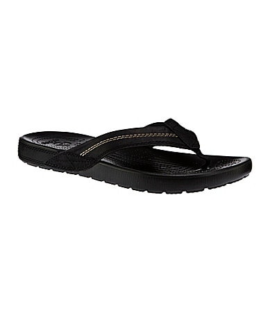 Crocs Men�s Yukon Flip Thong Sandals
