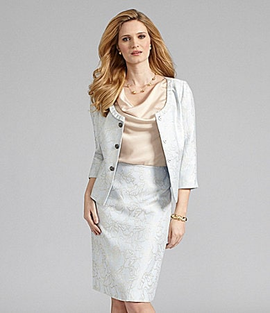 Preston & York Pavia Jacquard Jacket, Cary Cami & Kelly Skirt