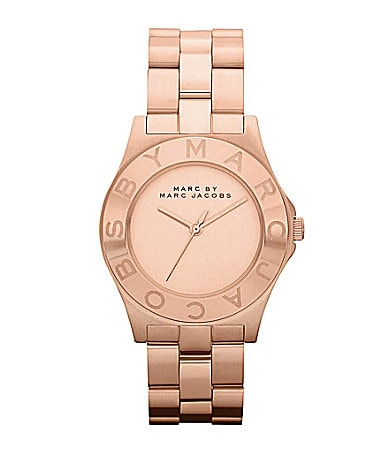 Marc by Marc Jacobs Blade Rose Goldtone Watch