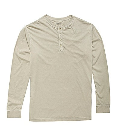 Roundtree & Yorke Casuals Long-Sleeve Solid Henley