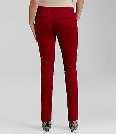 Freestyle Stretch Sateen Skinny Pants