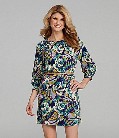 Antonio Melani Risto Floral Shift Dress