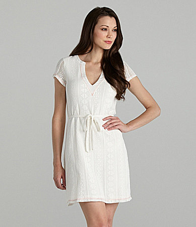 Sanctuary Clothing Azara Lace Knit Dress
