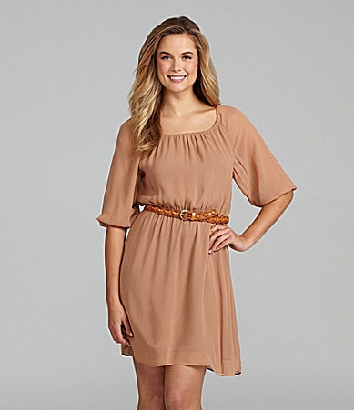 Sanctuary Clothing Martinique Belted Dress