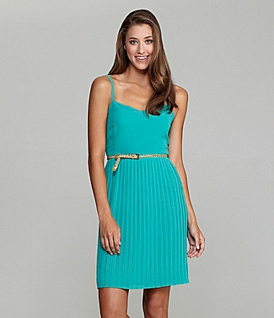 Sanctuary Clothing Malt Shop Pleated Dress
