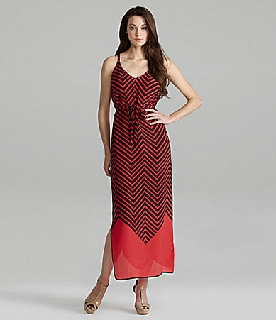 French Connection Ziggy Stripe Maxi Dress