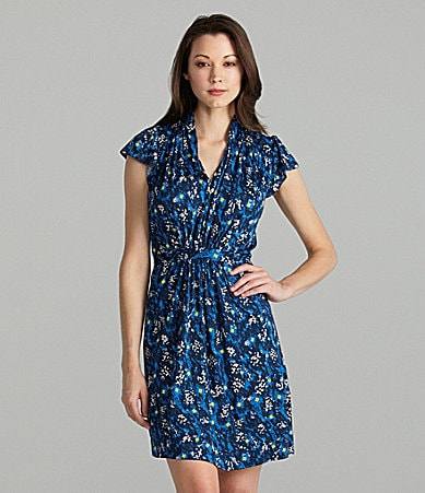 French Connection Electric Meadow Floral Dress