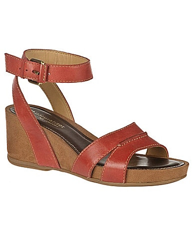 Naturalizer Panya Ankle Strap Wedge Sandals
