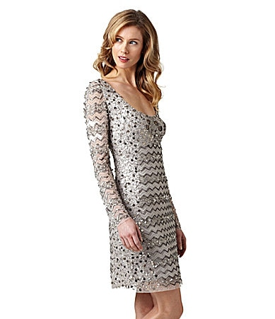 Adrianna Papell Beaded Dress