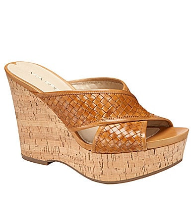 Via Spiga Elle Wedge Sandals