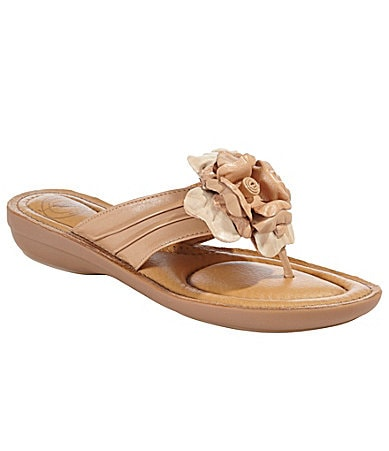 Nurture Bloom Flower Thong Sandals