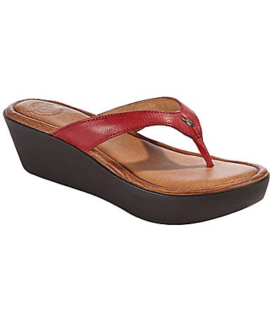 Nurture Cabo Wedge Thong Sandals