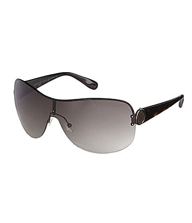 Marc by Marc Jacobs Oversized Shield Sunglasses