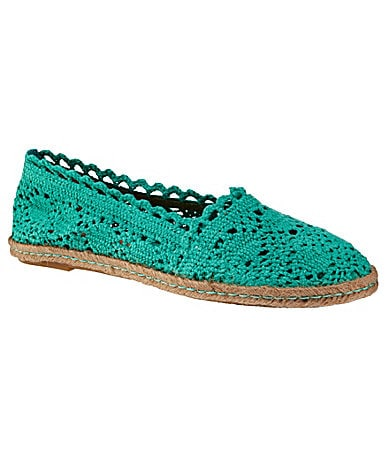 GB Gianni Bini For-Fun Crochet Flats