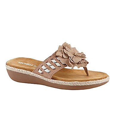 Michelle D Telma Thong Sandals