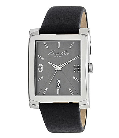 Kenneth Cole New York Men�s Leather Watch
