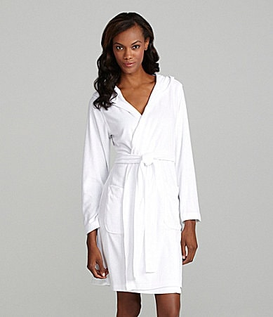 Lauren Ralph Lauren Hooded Lauren Essentials Short Robe