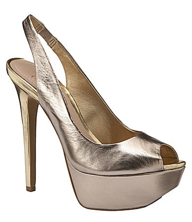 Jessica Simpson Halie Slingback Pumps