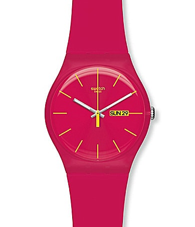 Swatch Rubine Rebel Watch