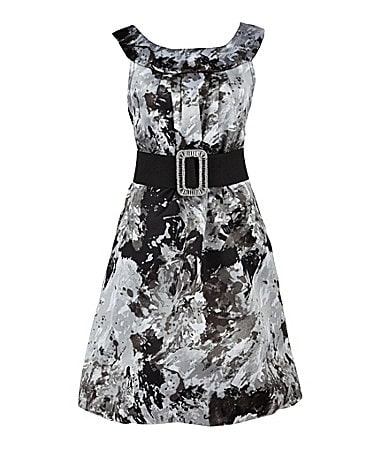 Ruby Rox 7-16 Design Printed Dress
