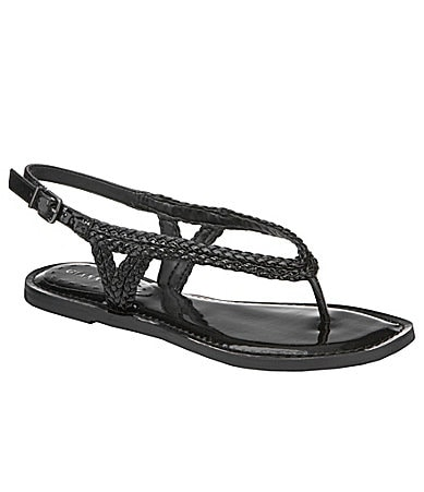 Gianni Bini Kaylin Braided Flat Thong Sandals