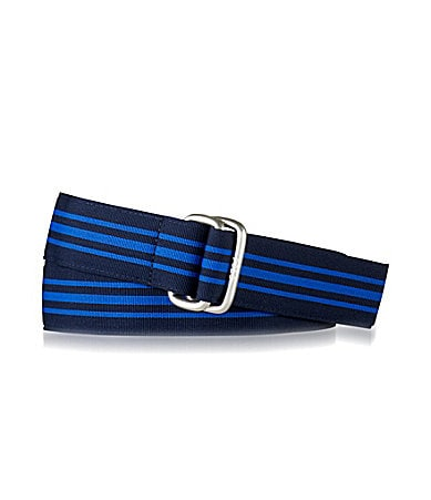 Polo Ralph Lauren Striped Ribbon Belt