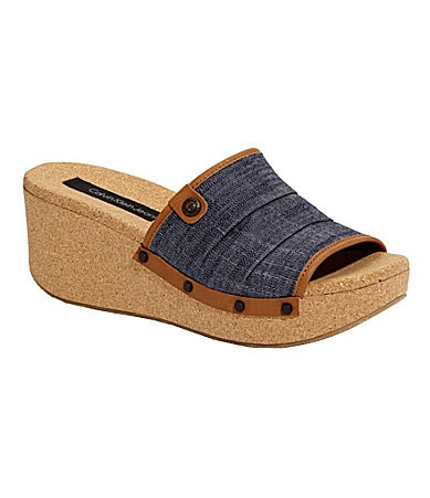 Calvin Klein Jeans Yvana Wedge Sandals