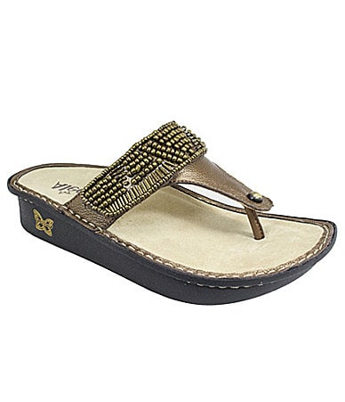 Alegria Women�s Carina Thong Sandals