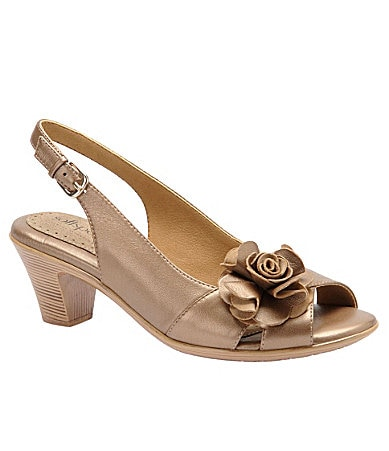Softspots Adia Peep-Toe Pumps