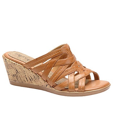 Softspots Luling Slip-On Wedge Sandals