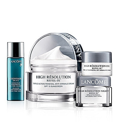 Lancome High Resolution Skin Care Set