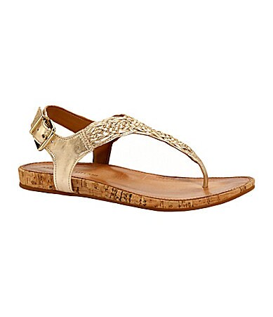 Antonio Melani Charlie Metallic Sandals