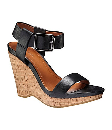 Calvin Klein Nikole Wedge Sandals