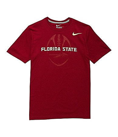 Nike Team Issues Florida State Football Graphic Screenprint Tee
