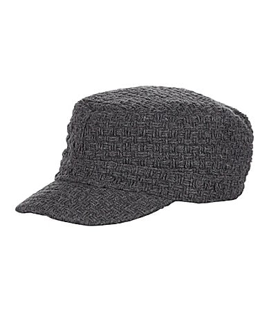 Kate Landry Basketweave Cap