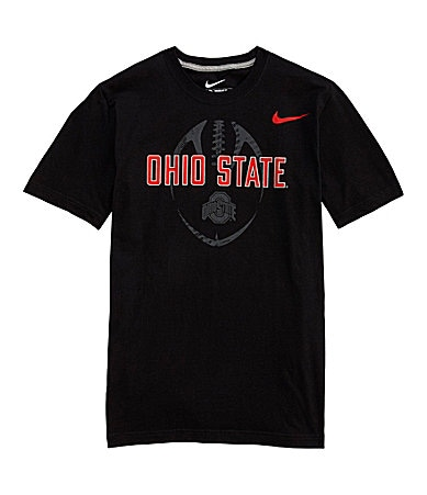 Nike Ohio State Football Design Screenprint Tee