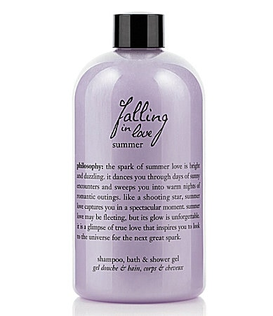 philosophy falling in love summer shower gel