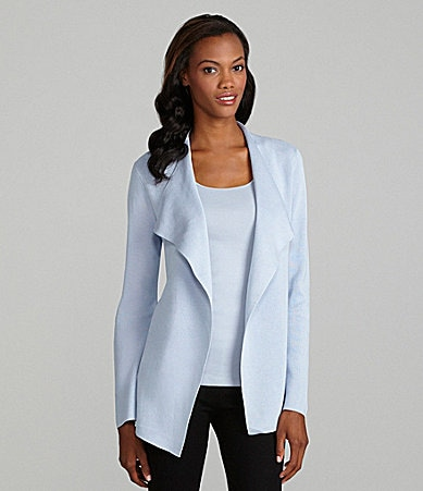 Eileen Fisher Silk-Cotton Cardigan