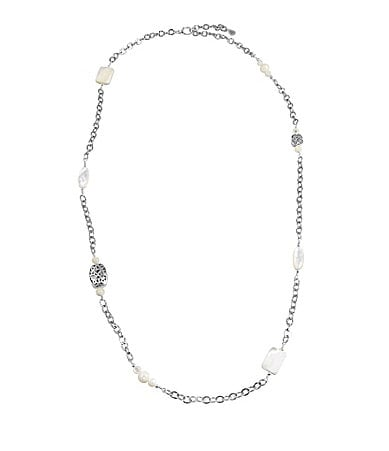 Barse Tryst Long Beaded Necklace