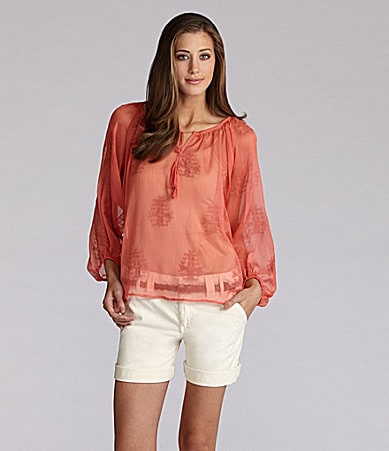 Sanctuary Clothing Jacinda Blouse & Scout Shorts
