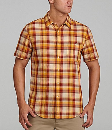 Perry Ellis Ombre Check Shirt