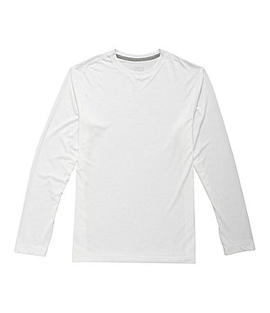Roundtree & Yorke Sport Athletic Long-Sleeve Crewneck Shirt