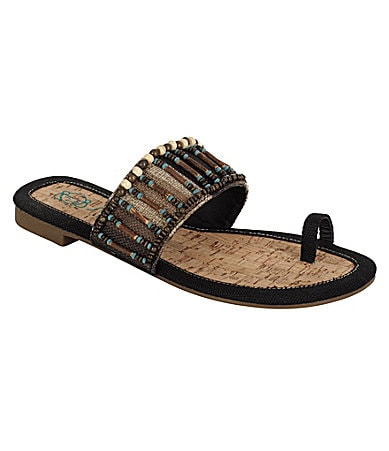 Sugar Jibal Slide Thong Sandals
