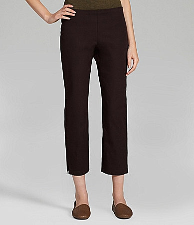 Eileen Fisher Woman Slim Ankle Pants