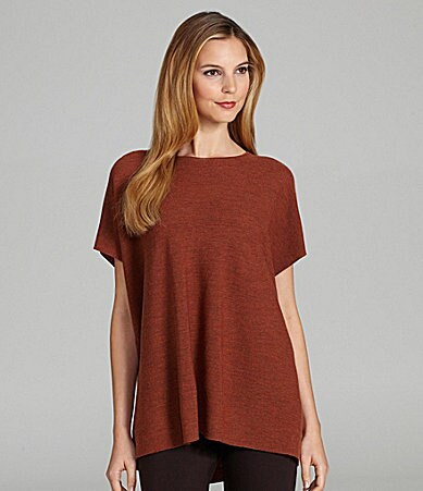Eileen Fisher Boxy Wool Tunic
