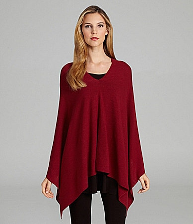 Eileen Fisher Wool Poncho