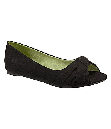 Blowfish Women�s Nest Peep-Toe Flats