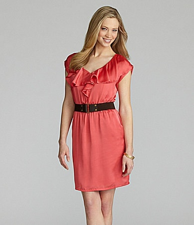 Cremieux Lucille Belted Dress