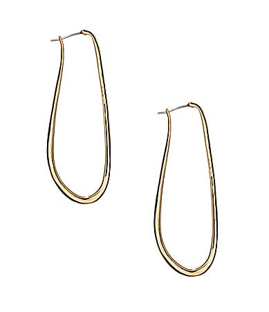 Vince Camuto Elongated Hoop Earrings